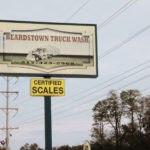 Beardstown Truck Wash exterior sign